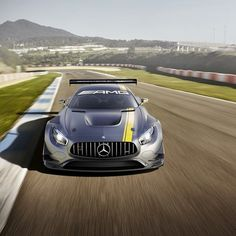 Presenting the all-new Mercedes-AMG GT3, the latest full-blooded racecar to emerge from our high-performance workshop in Affalterbach. Based on the all-new GT S, the production car's low center of gravity, weight distribution and wide track forms the basis of the track-ready GT3 and under its hood, AMG's race-proven 6.3-liter V-8 forms its heart. See more in this gallery and see it for real the Geneva Motor Show. #Mercedes #Benz #AMGGT #AMG #GT #GT3 #GenevaMotorShow #Geneva #FIA…