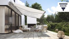 We supply and install the world's highest quality awnings by Markilux for domestic and commercial spaces. Contact our experts today.