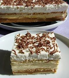 3 Bit (sütés nélkül) - I just LOVE this one! My favorite dessert after cheesecake! Hungarian Desserts, Hungarian Recipes, Sweet Desserts, No Bake Desserts, Dessert Recipes, Austrian Recipes, Creative Desserts, Icebox Cake, Polish Recipes