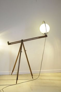 Trip'light Lamp by Récupatine Lamps & Lights Recycled Glass