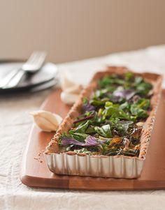 gluten free vegetable tart