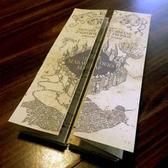 DIY Harry Potter Marauders Map Tutorial and Printable from...
