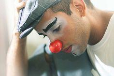The handsomest Clown I have ever seen. Clown Pics, Le Clown, Circus Clown, Circus Theme, Pantomime, Vintage Circus, Mime Face, Big Top Circus, Dark Circus