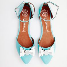 Cold Feet by Jeffrey Campbell 'Lovin Bow', blue