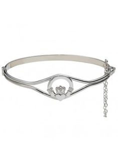 sterling-silver-claddagh-bangle