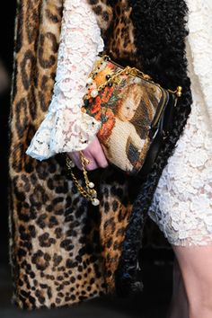 Dolce & Gabbana Fall 2012 Ready-to-Wear/ Easing back into patterns and combo's,...