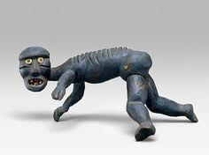 Tupilak figurine in dark Wood, Greenland. Source: The Metropolitan Museum of Art, New York