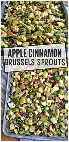 Apple Cinnamon Brussels Sprouts – Make the Best of Everything