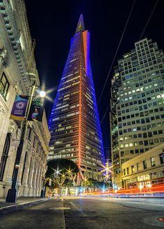 San Francisco Feelings - Transamerica Pyramid, San Francisco   California...