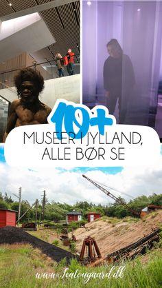 10+ museer i Jylland, alle bør se - TeaTougaard.dk Boruto, Denmark, Movie Posters, Movies, Travel, Art, Museum Of Art, Art Background, Viajes