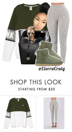"""Comfy Cutie"" by cierracraig ❤ liked on Polyvore featuring UGG Australia"
