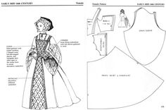 New sewing patterns dresses gown barbie dolls ideas Gown Pattern, Doll Dress Patterns, Costume Patterns, Clothing Patterns, Tudor Costumes, Medieval Costume, Renaissance Costume, Historical Costume, Historical Clothing