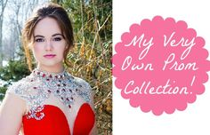 My Own Prom Collection! I am SO excited to announce that I have been working on my #ReelProm dream dress to sell to those of you who are interested! It's a stunning red full length dress with silver accents. I was also blessed to design some beautiful long, dangle silver earrings that will dazzle from under your u...  Read More at http://www.chelseacrockett.com/wp/fashion/my-own-prom-collection/.  Tags: #Beauty, #Collection, #Dress, #Fashion, #Jewelry, #Makeup, #Prom