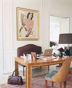 Mick Jagger and L'Wren Scott's Paris apartment