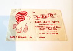 Vintage 1930s Deadstock Silk Hairnet - Auburn Hair Nets, Hair Shades, Silk Hair, Paper Envelopes, Vintage Hairstyles, Auburn, 1930s, Prints, Etsy