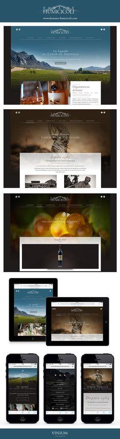 Au cœur d'une des premières régions viticoles de Corse, le Domaine Fiumicicoli élabore depuis 1964 des vins de qualité, avec le plus grand respect de son terroir.  Vinium a façonné la nouvelle image digitale de ce domaine familial :  www.domaine-fiumicicoli.com  #wine #corse #corsica #sartene #vin