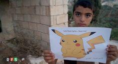 想化身《寶可夢》 敘利亞兒童求救離戰火 - https://kairos.news/42881