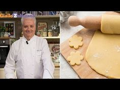 FROLLA MILANO di Iginio Massari - YouTube Sweet Recipes, Cake Recipes, Cake & Co, Something Sweet, Macarons, Food And Drink, Cooking Recipes, Cookies, Kitchens