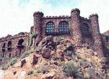 Aqua Verde Castle, Vail, AZ. Built by Duane Durham, owner ...