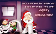 Top Funny Christmas Wishes, Messages and Quotes 2018-  Funny Christmas greetings help you keep your strong bonding with your loved ones. They are not only responsible to enlighten your mood but also help a great deal forward to build stronger relationships.  Most funny merry Christmas wishes are light hearten and fun filled. As soon as you read them, your overall mood changes instantly.