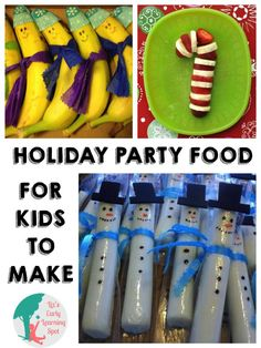 10 Healthy Christmas Party Foods - Liz's Early Learning Spot