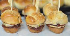 Mini burgers de Noël au foie gras et figue
