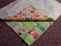 A good DIY tag blanket tutorial