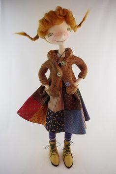 NKALE :-) В каждой игрушке сердце: куклы