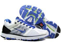 bbc8635712324 Mens Nike Lunarglide 2 White Blue Shoes Running Shoe Shop