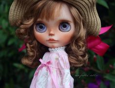 RESERVED - Harriet - OOAK Custom Art Blythe Doll by Rainfable Dolls (2016)