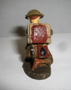 Hausser Elastolin englischer Soldat Engländer Tommy 7,5 cm | eBay