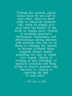 a lemon squeezy home: Charity Quote: Printable