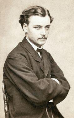 He seems Leonardo Di Caprio :-) - Robert Todd Lincoln, c. 1865. Abraham and Mary's first son, future Secretary of War