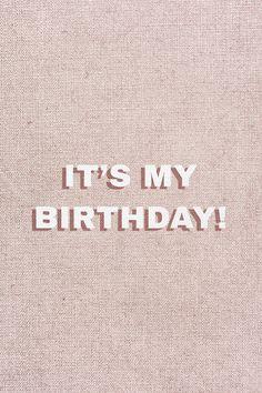 Happy Birthday Cousin, Happy Birthday Typography, Funny Happy Birthday Meme, Birthday Captions, Happy Birthday Quotes For Friends, Birthday Girl Quotes, Happy Birthday Beautiful, It Is My Birthday, 90th Birthday