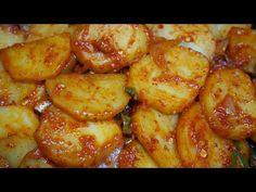 Food Festival, Korean Food, Chicken Wings, Potatoes, Cooking Recipes, Meat, Vegetables, Breakfast, Cook