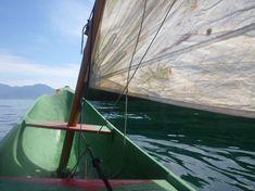 Canoa caiçara - Ilha Grande - Brasil