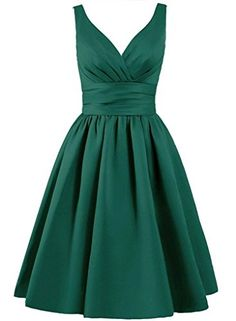 Singmo Short Satin Pleated Bridesmaid Dress V Neck Junior... https://www.amazon.com/dp/B01CP01JMU/ref=cm_sw_r_pi_dp_U8ODxb73KWZ5S