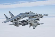 The Aviationist » Freaking Awesome Photo of four U.S. F-15C Eagle jets Breaking the formation