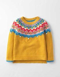 Honeycomb Fair Isle Fair Isle Sweater Boden