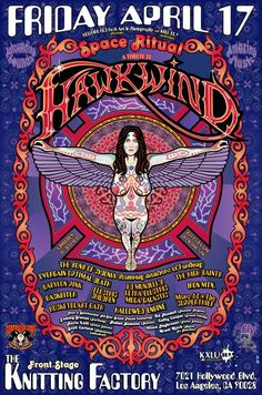 A Tribute to Hawkwind at The Knitting Factory, L.A.
