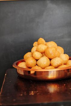 Luqumat al Qadi (Judge's Morsels) 3 cups flour Dash of salt 1 1/2 tbsp corn starch 1 1/2 tbsp sugar 1 tbsp instant yeast 1 ...
