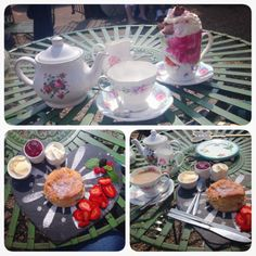 Traditional cream tea in Battlesbridge Essex