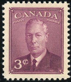 King George VI Canada 1949