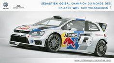 Sébastien Ogier, champion du monde des rallyes WRC sur Volkswagen ! http://volkswagen-versailles.com/actualites-volkswagen-vca/33/sebastien-ogier-champion-du-monde-des-rallyes-wrc-sur-volkswagen