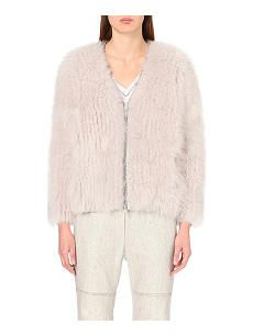 BRUNELLO CUCINELLI Textured cashmere jacket