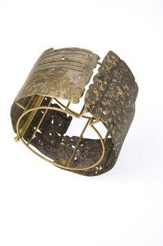 Bracelet | Stefano Marchetti. Gold, silver, technical shibuishi (copper and silver)