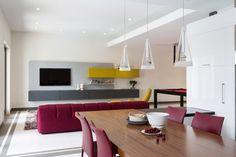South Miami Townhouse - contemporary - Dining Room - Miami - Touzet Studio