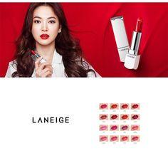 NEW Arrivals LANEIGE Silk Intense Lipstick 3.5g Amore Pacific Korean Cosmetics  #laneige #new #newarrival #lips #lipstick #silkintenselipstick #amorepacific #songhyekyo #kpop #kbeauty #korea #korean #makeup #cosmetics