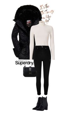"""The Cover Up – Jackets by Superdry: Contest Entry"" by puspitantri ❤ liked on Polyvore featuring Superdry, Valentino, A.L.C., River Island, Zimmermann and MySuperdry"