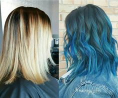 Layered, Wavy Haircut with Shoulder Length Hair - Balayage Ombre Hair Style